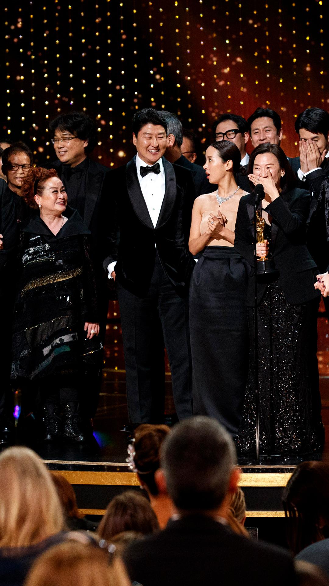 Bong Joon Ho, Parasite cast, 2020 Screen Actors Guild Awards, SAG Awards, winners