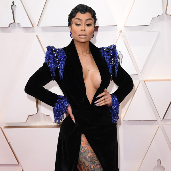 Blac Chyna, 2020 Oscars, Academy Awards, Red Carpet Fashions