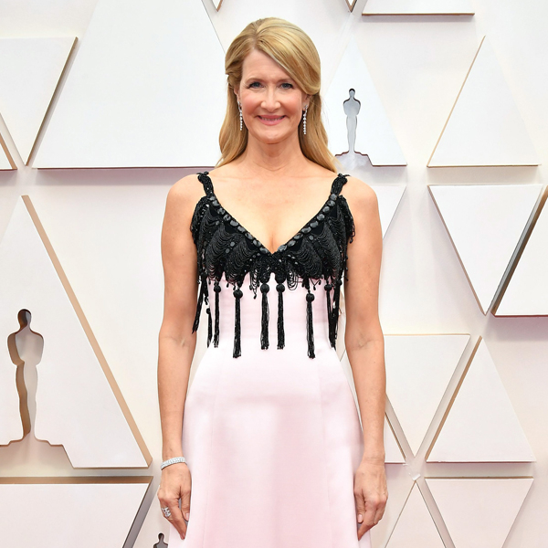 Laura Dern Arrives at the 2020 Oscars With Her Mother Diane Ladd