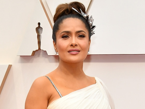 "Salma Hayek Has the Best Response After Being Accused Of Having ""Too Much Botox"""