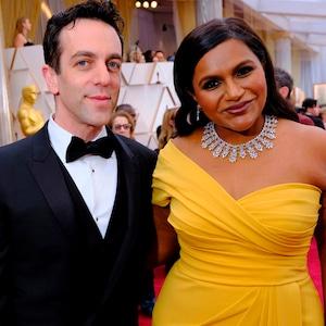 B. J. Novak, Mindy Kaling, 2020 Oscars, Academy Awards