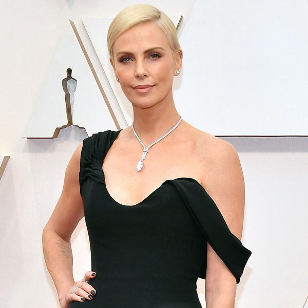 Charlize Theron Hits the 2020 Oscars Red Carpet With Her Mother - E! Online