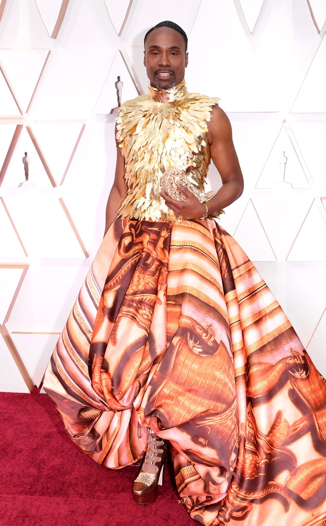 Billy Porter, 2020 Oscars, Academy Awards, Red Carpet Fashions