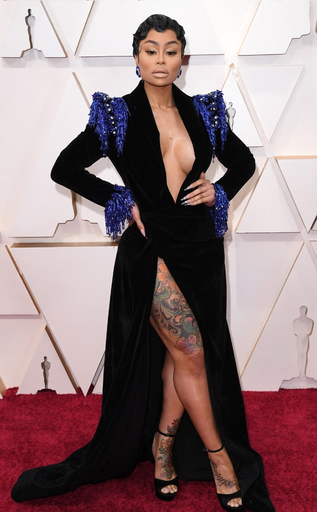 Blac Chyna, 2020 Oscars, Academy Awards, Red Carpet Fashions