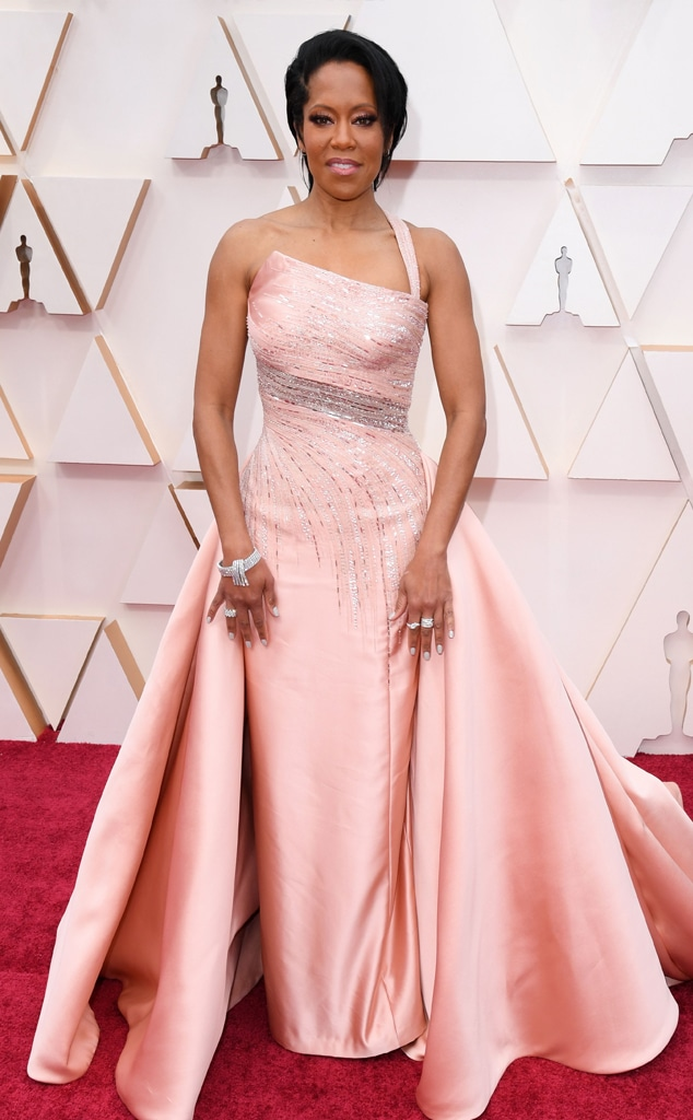 Regina King, 2020 Oscars, Academy Awards, Red Carpet Fashions