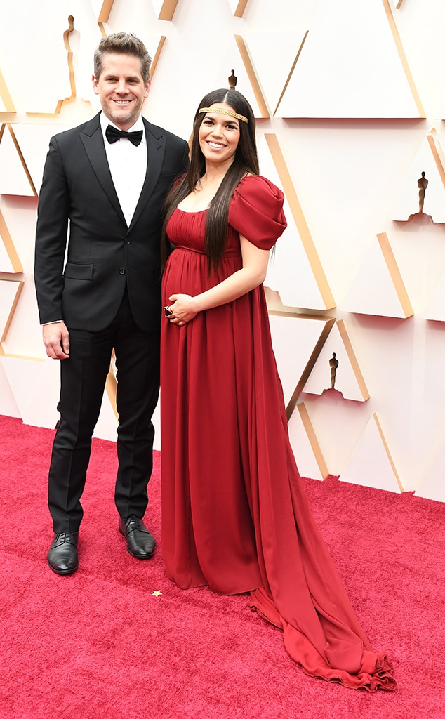Ryan Piers Williams, America Ferrera, 2020 Oscars, Academy Awards, Couples