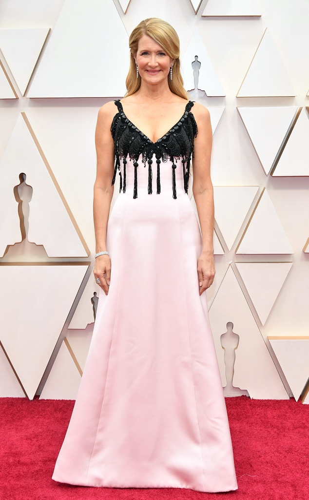Laura Dern, 2020 Oscars, Academy Awards, Red Carpet Fashions