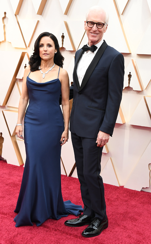 Julia Louis-Dreyfus & Brad Hall from 2020 Oscars: Red Carpet Couples