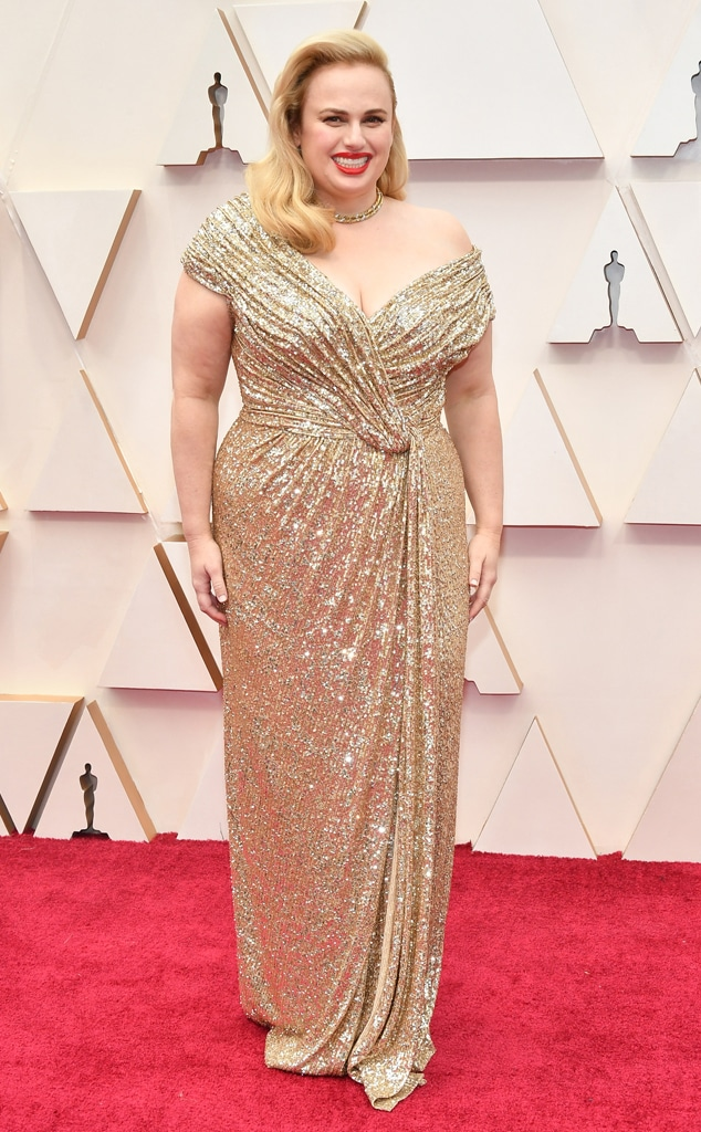 Rebel Wilson, 2020 Oscars, Academy Awards, Red Carpet Fashions