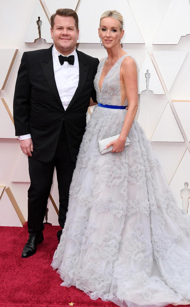 James Corden, Julia Carey, 2020 Oscars, Academy Awards, Couples