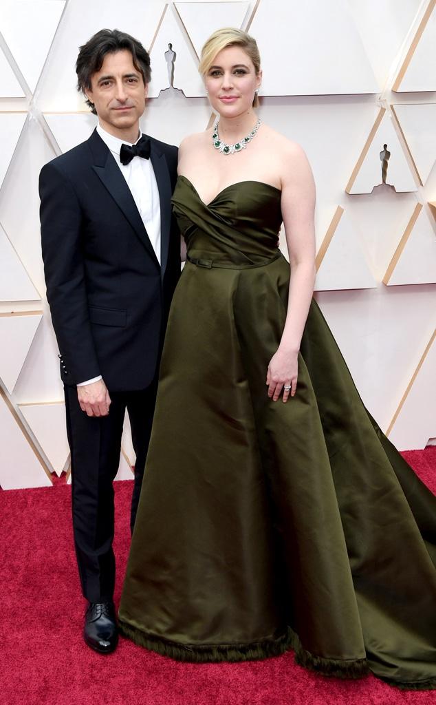 Noah Baumbach, Greta Gerwig, 2020 Oscars, Academy Awards, Couples