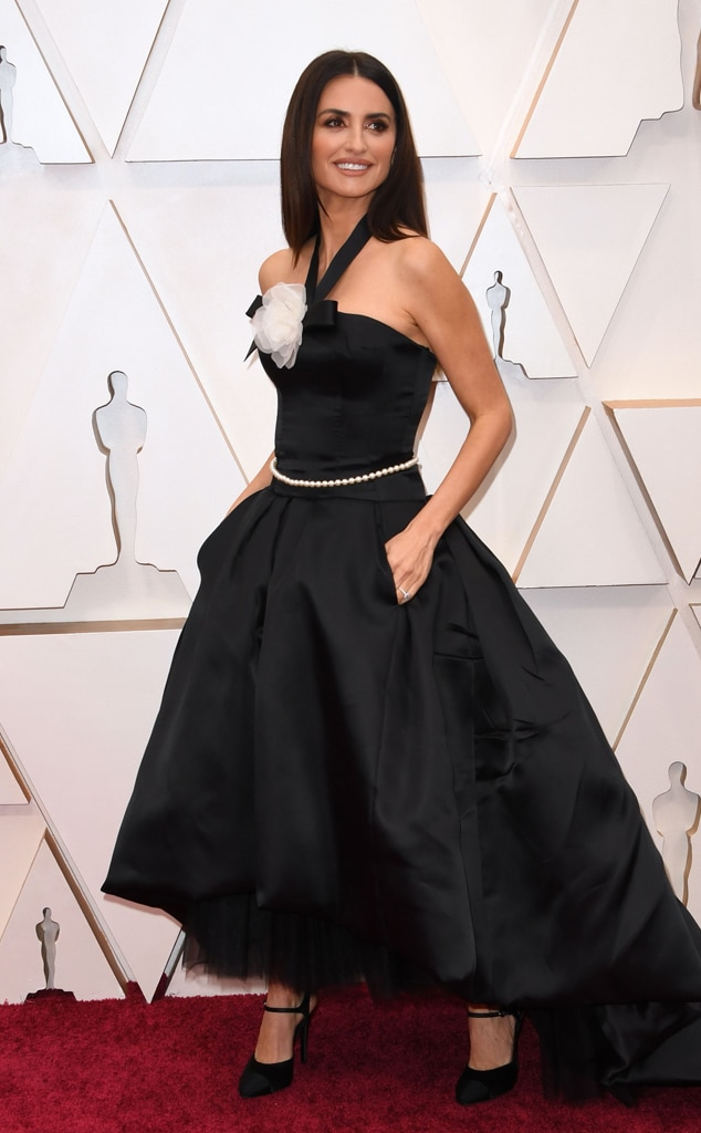 Penelope Cruz, 2020 Oscars, Academy Awards, Red Carpet Fashions