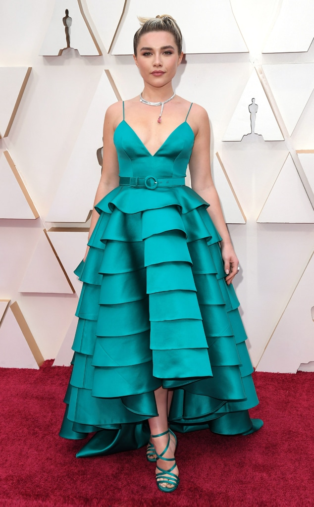 Florence Pugh, 2020 Oscars, Academy Awards, Red Carpet Fashions