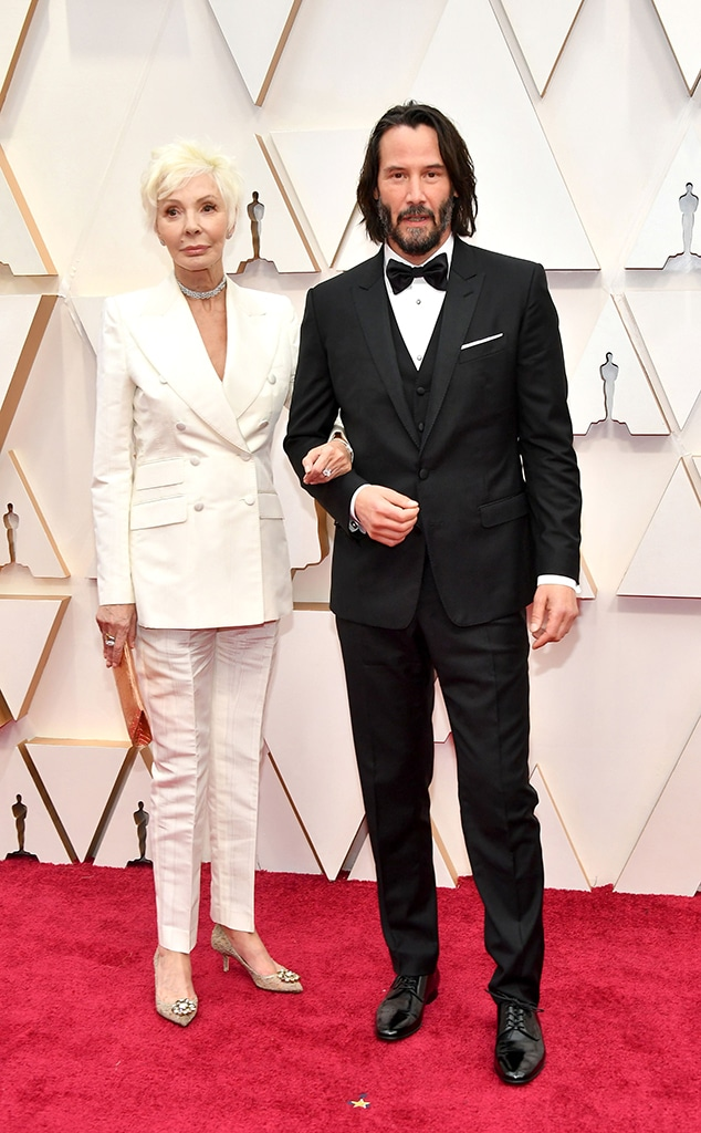 Patricia Taylor, Keanu Reeves, 2020 Oscars, Academy Awards, Family