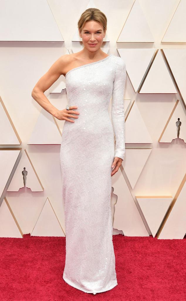 Renee Zellweger, 2020 Oscars, Academy Awards, Red Carpet Fashions