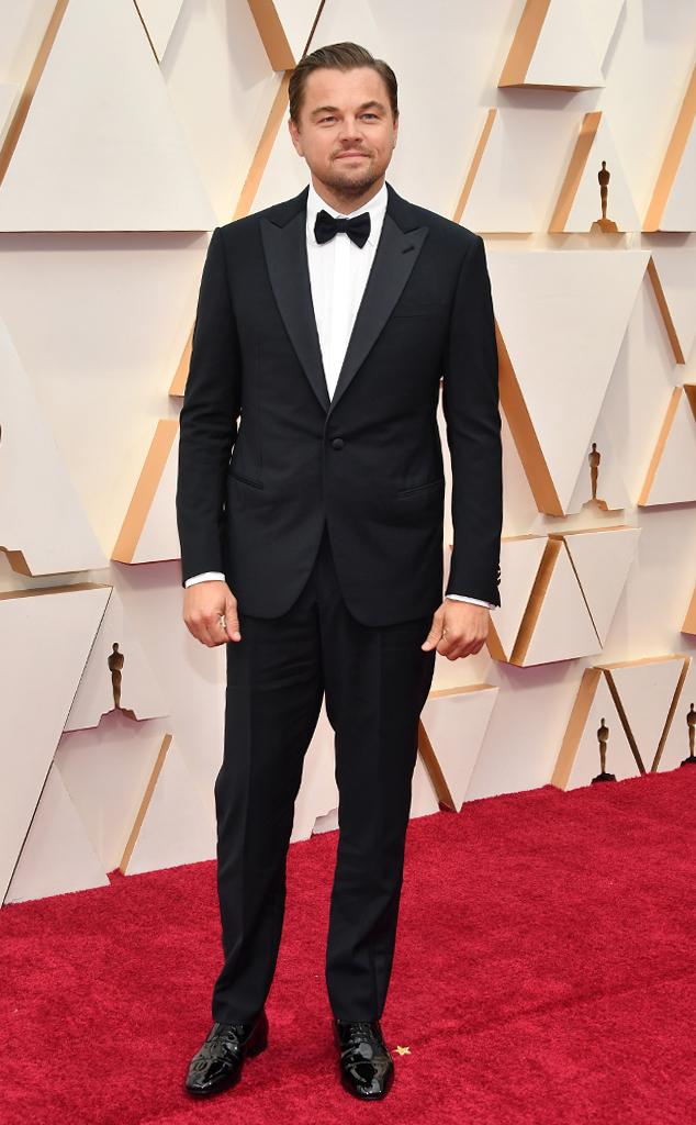 Leonardo DiCaprio, 2020 Oscars, Academy Awards, Red Carpet Fashions