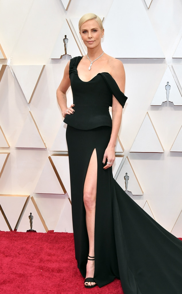Charlize Theron, 2020 Oscars, Academy Awards, Red Carpet Fashions