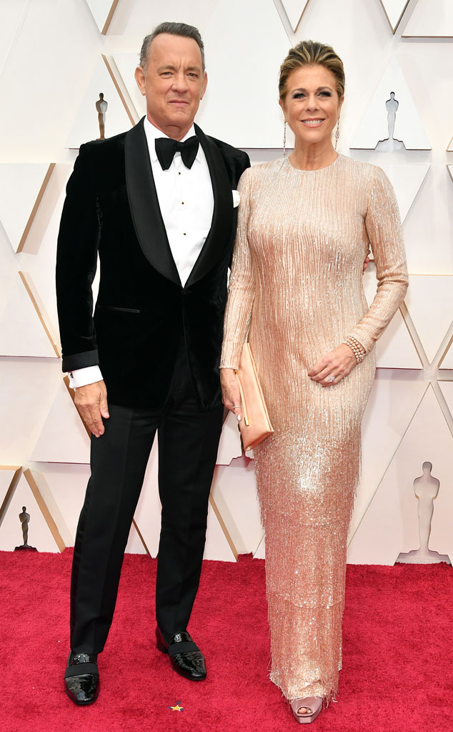 Tom Hanks, Rita Wilson, 2020 Oscars, Academy Awards, Couples