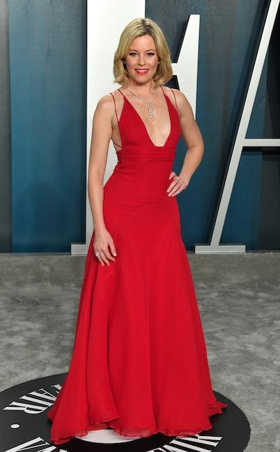 2020 Vanity Fair Oscar Party, Elizabeth Banks