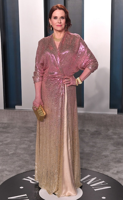 Megan Mullally, 2020 Vanity Fair Oscar Party