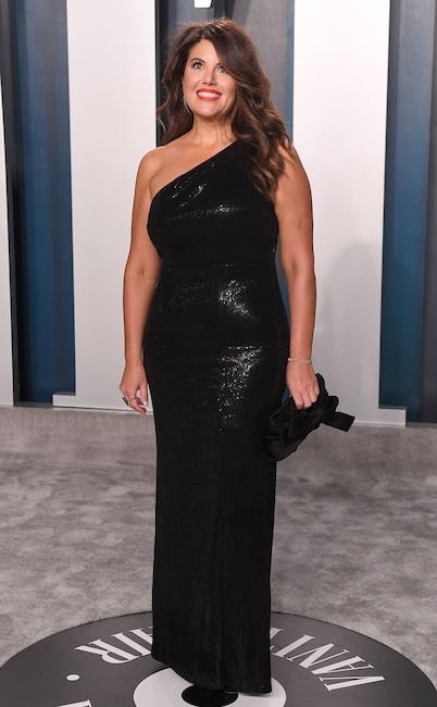 Monica Lewinsky, 2020 Vanity Fair Oscar Party