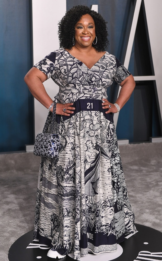 Shonda Rhimes, 2020 Vanity Fair Oscar Party