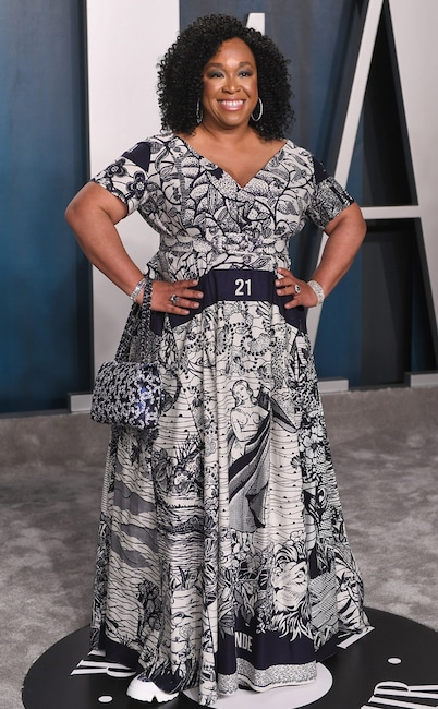 Shonda Rhimes, 2020 Vanity Fair Oscar Party