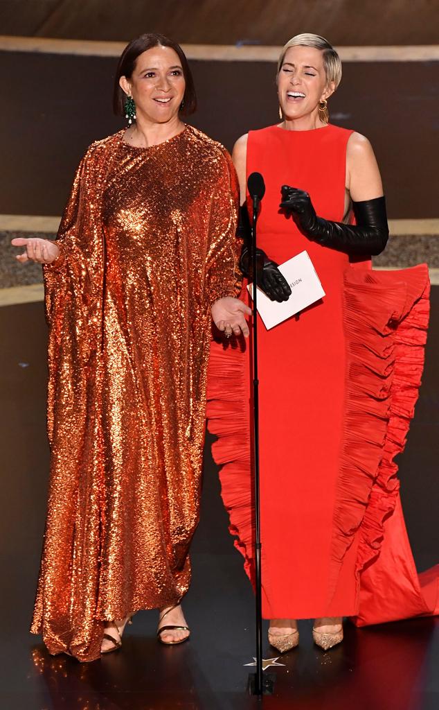 Maya Rudolph, Kristen Wiig, 2020 Oscars, Academy Awards, Show