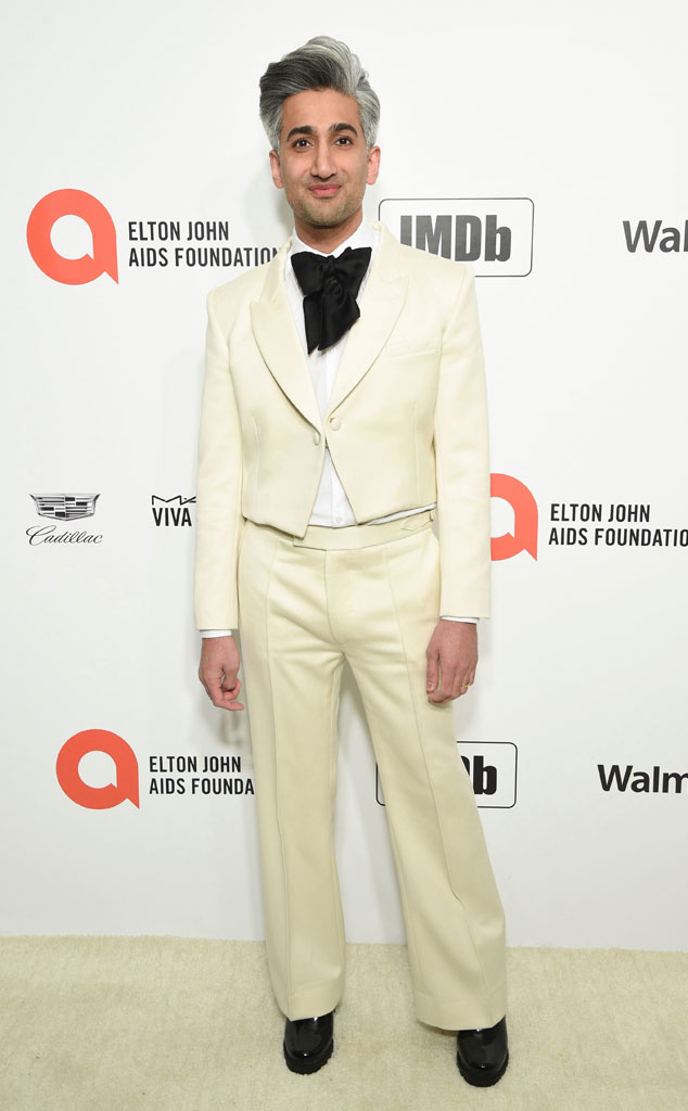 Tan France, 2020 Elton John AIDS Foundation Academy Awards Viewing Party