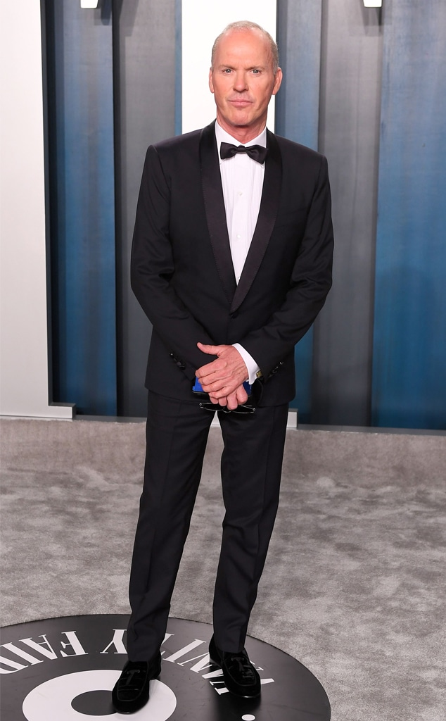 Michael Keaton, 2020 Vanity Fair Oscar Party