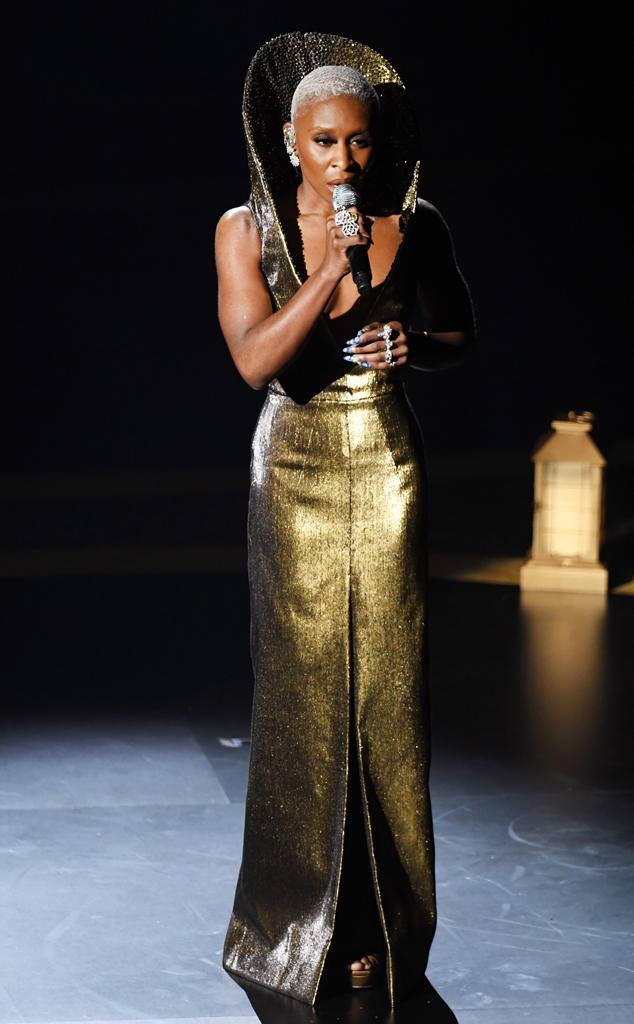 Cynthia Erivo, 2020 Oscars, Academy Awards, Show, Cats