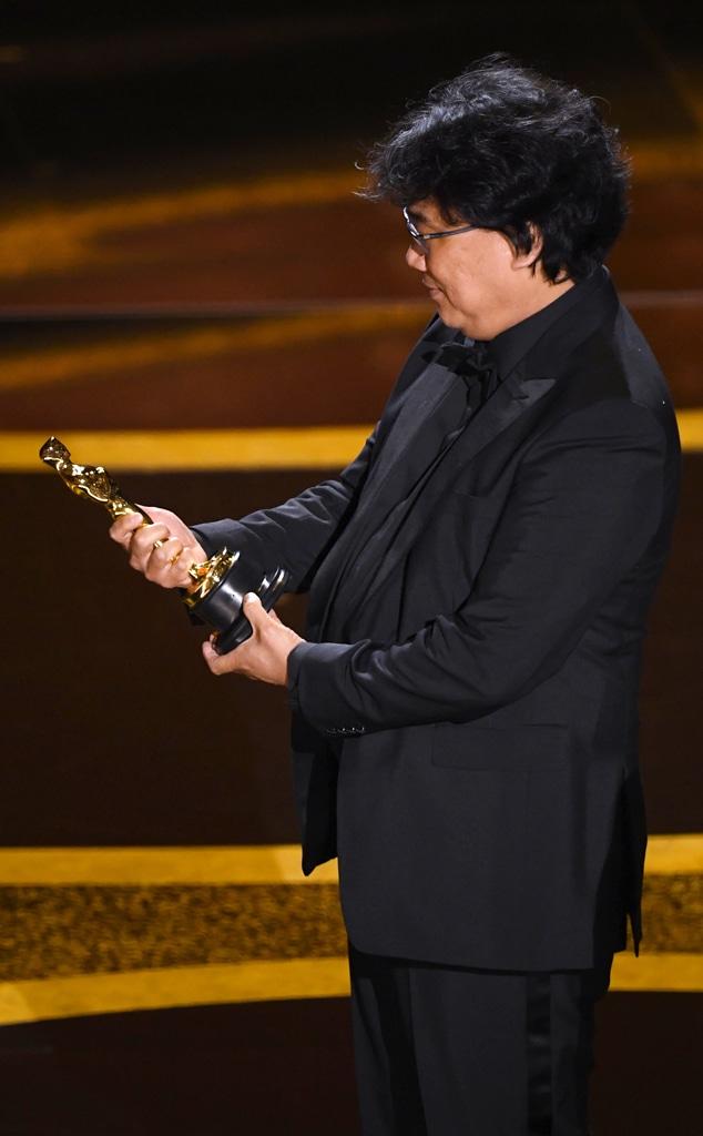Bong Joon Ho, 2020 Oscars, Academy Awards, Winners