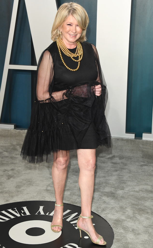Martha Stewart, 2020 Vanity Fair Oscar Party