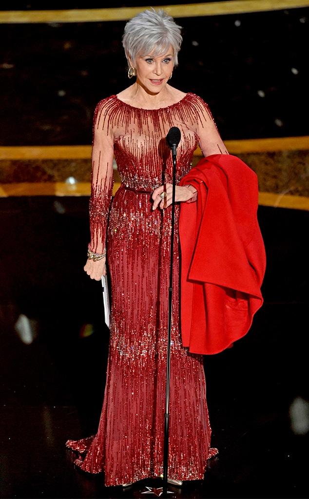 Jane Fonda, 2020 Oscars, Academy Awards, Show