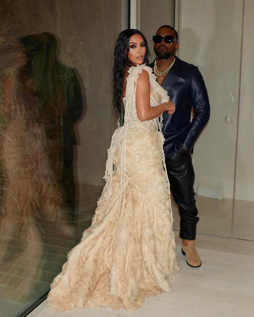 Kim Kardashian, Kanye West, Instagram, Oscar After-Party, 2020 Oscar Party, Inside