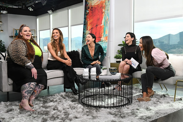 Heather Dubrow, Audrina Patridge, Tess Holliday, October Gonzalez, Bekah Martinez