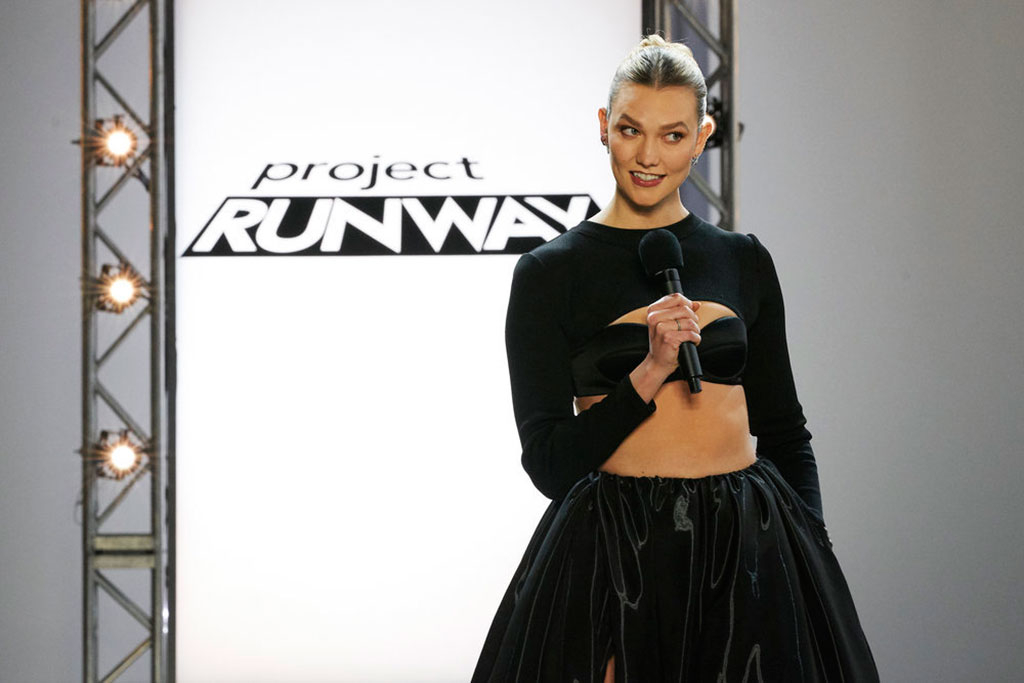 Karlie Kloss, Project Runway Season 18 Finale
