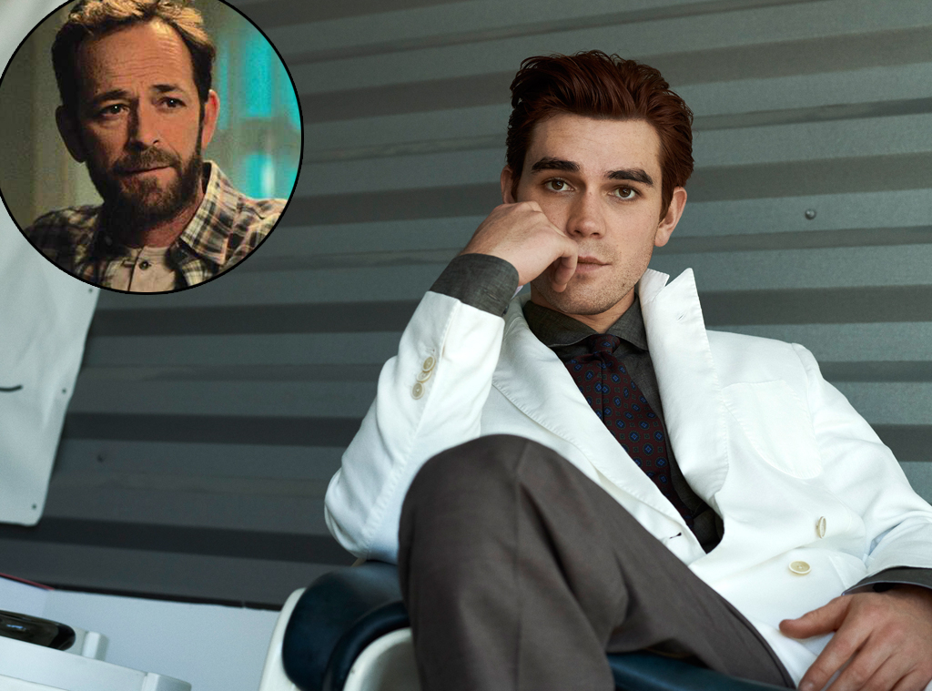 KJ Apa, Luke Perry, MR PORTER