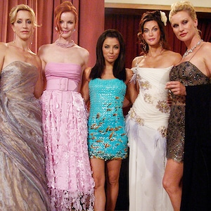 Desperate Housewives then and now