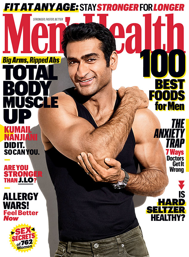 Kumail Nanjiani, Men's Health, April 2020