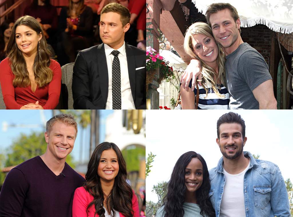 Peter Weber, Jake Pavelka, Vienna Girardi, Sean Lowe, Catherine Lowe, Rachel Lindsay, Bryan Abasolo, The Bachelor