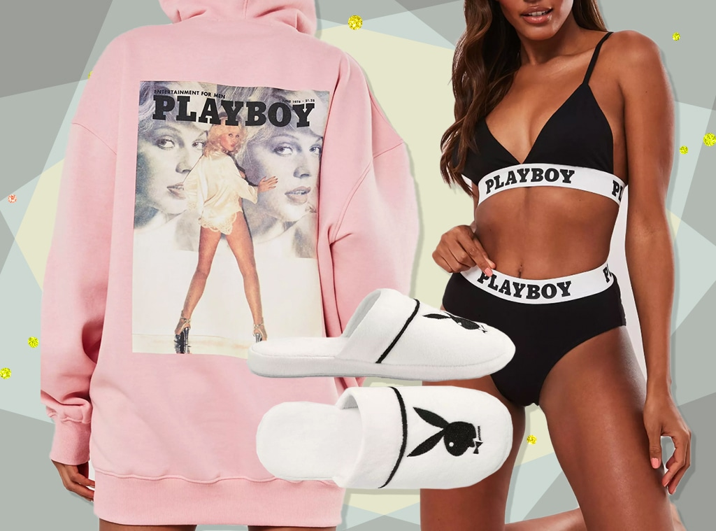 EComm: Misguided x Playboy - collage