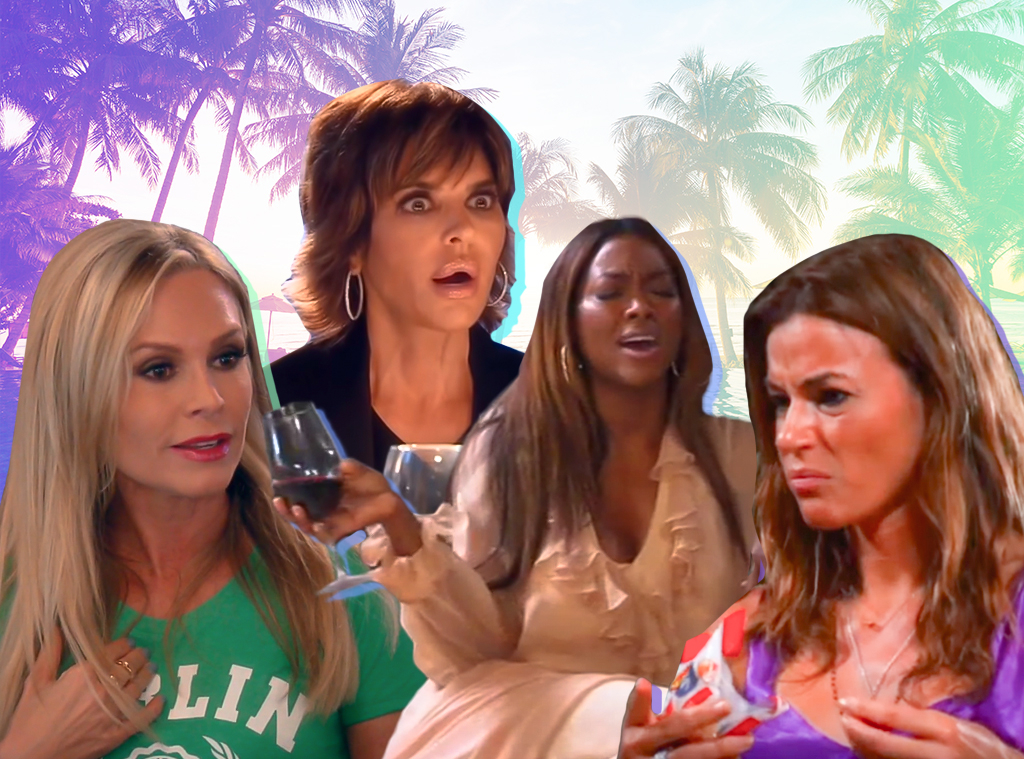 Real Housewives Dramatic Trips