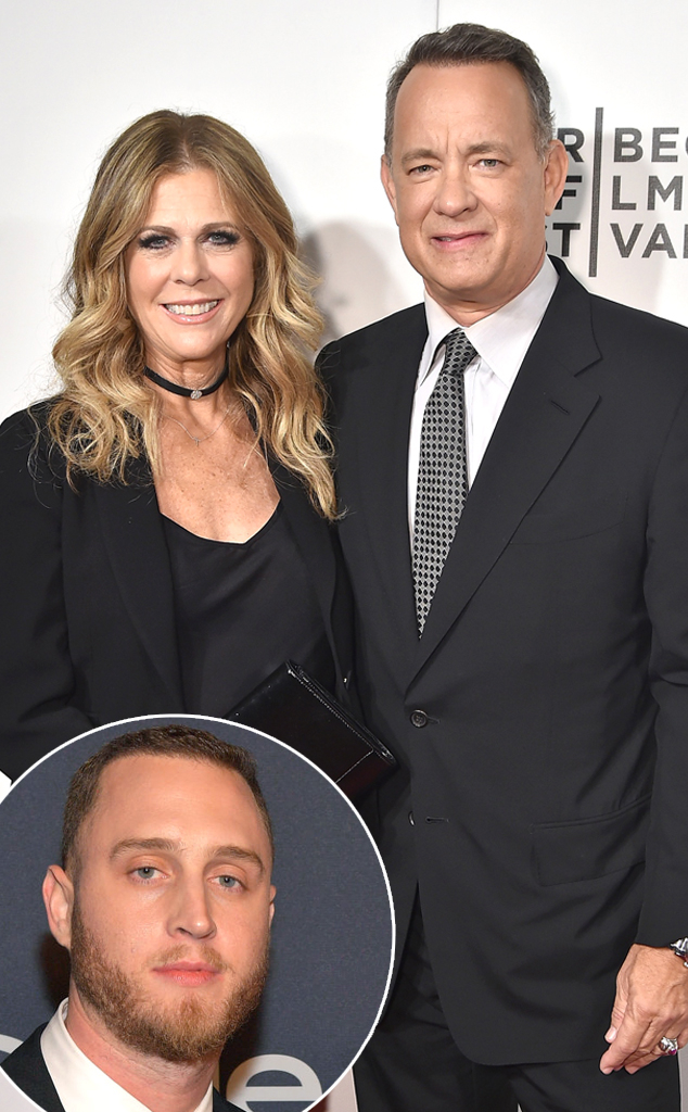 Tom Hanks, Rita Wilson, Chet Hanks