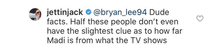 Jack Weber, Instagram