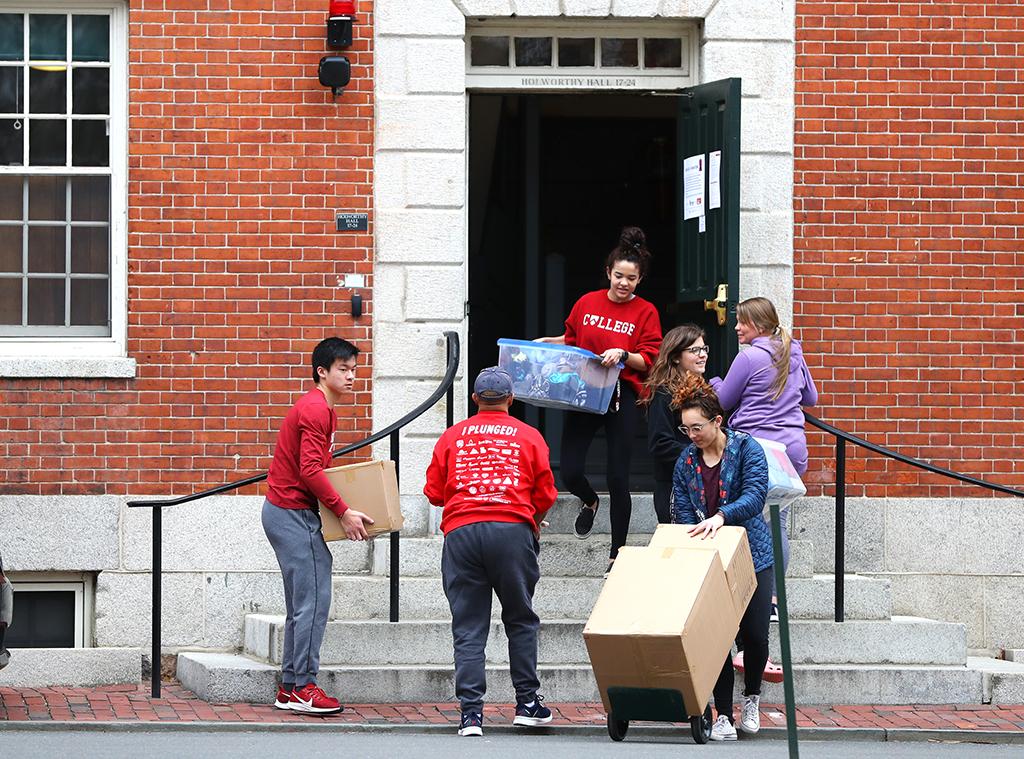 Students move out, coronavirus