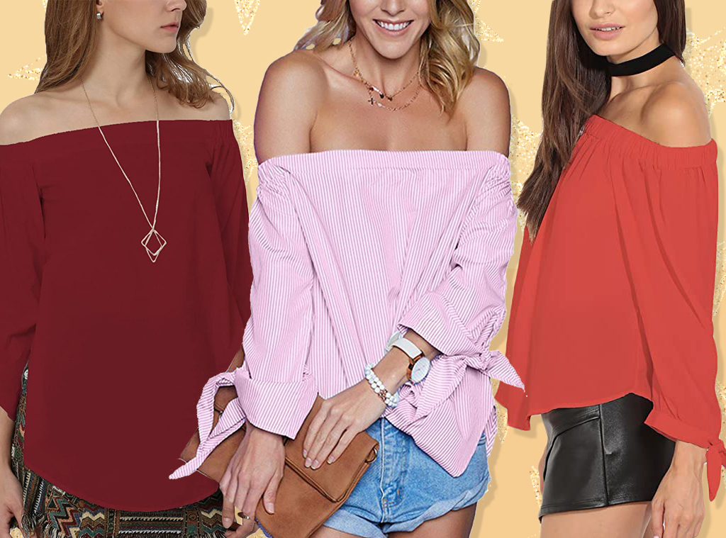 E-Comm: This $22 Off-the-Shoulder Blouse Has 1,000+ 5-Star Amazon Reviews