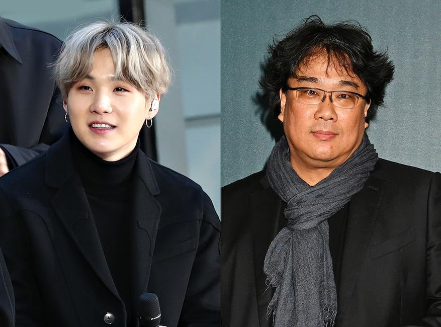 BTS' Suga, Bong Joon-Ho