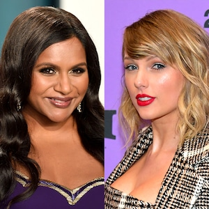 Mindy Kaling, Taylor Swift
