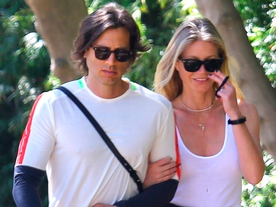 Gwyneth Paltrow and Brad Falchuk Talk to Counselor About Intimacy in Rare Joint Interview